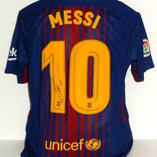 FC Barcelona - Spanish Football League - Lionel Messi - Jersey