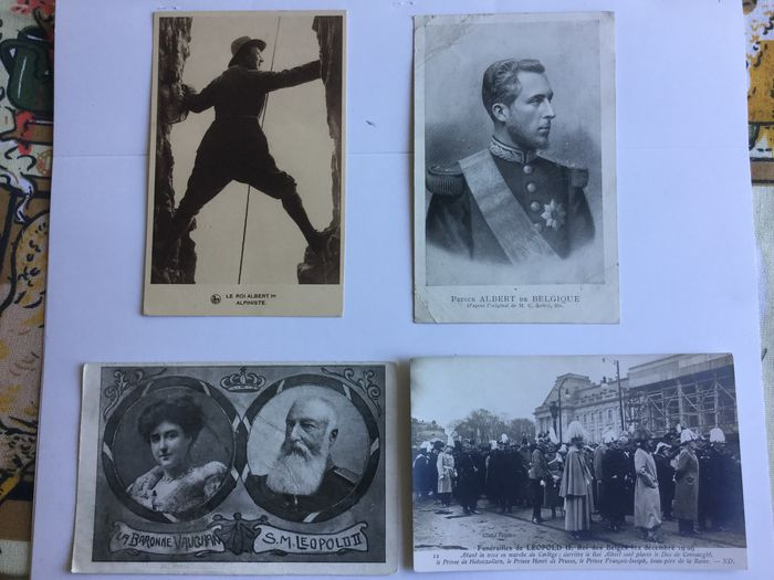 Belgium - Belgian royalty / royal family - Postcards (Collection of 100) - 1905