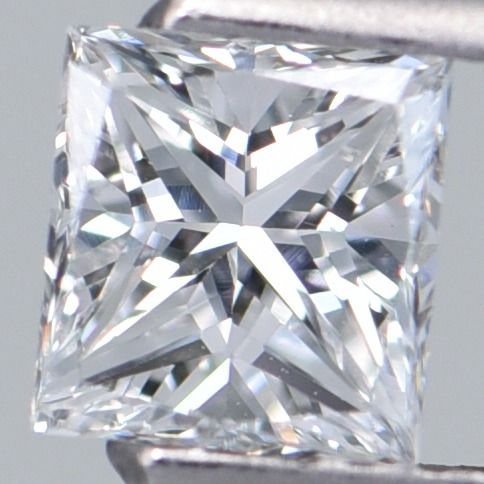 1 pcs Diamond - 0.70 ct - Rectangular Modified Brilliant - E - SI1     GIA Certified