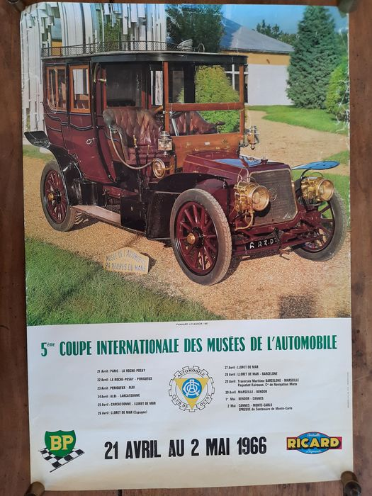 Poster - Coupe internationale 1966 - BP