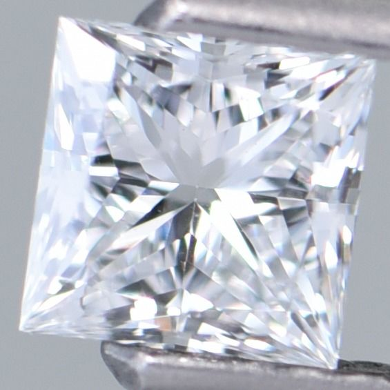 1 pcs Diamond - 0.42 ct - Square Modified Brilliant - E - SI1     GIA Certified  ** No Reserve Price! **