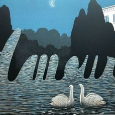 Rene Magritte (after) - The Art of Conversation