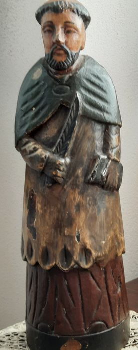 Sculpture (1) - Wood - early 900