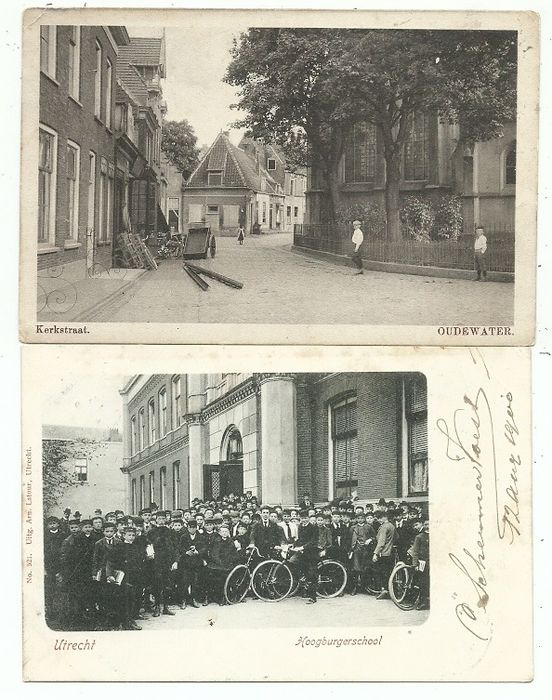 Postcards Villages and Cities Utrecht (62x) (Collection) - 1900-1925