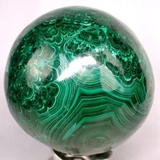 First Quality Malachite Sphere - 130×130×130 mm - 4145 g