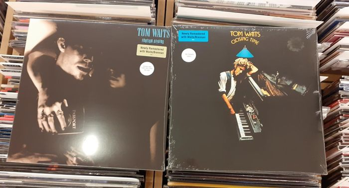 Tom Waits - Two Great Records !! ||  Closing Time,  Foreign Affairs || Mint & Sealed  - LP Album, LP's - 2018/2018