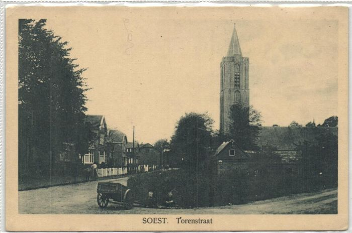 Netherlands - Soest, Soestdijk, Soesterberg and Soestduinen - Various streets and sights - Postcards (Collection of 83) - 1900-1960
