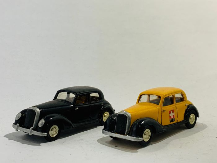 unknown - 1:43 - Lot of 2 old classics one of them is Swiss PTT