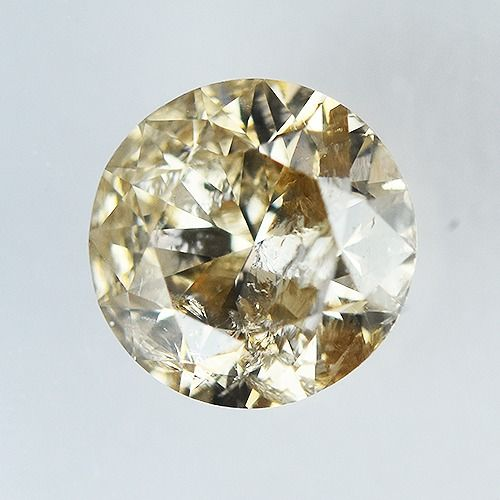 Diamond - 0.46 ct - Brilliant, Round - X-Y No Reserve Price - I2