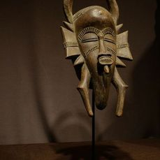 Mask - Wood - Kpele - Senufo - Ivory Coast