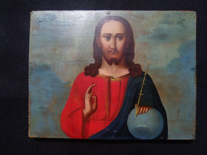 Christ, Icon - Wood - Around 1900