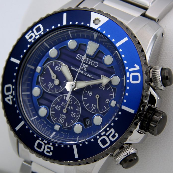 """Seiko - """"NO RESERVE PRICE""""  Diver's 200m """"SPECIAL EDITION - Save The Ocean """" - MADE IN JAPAN - Men - 2019"""