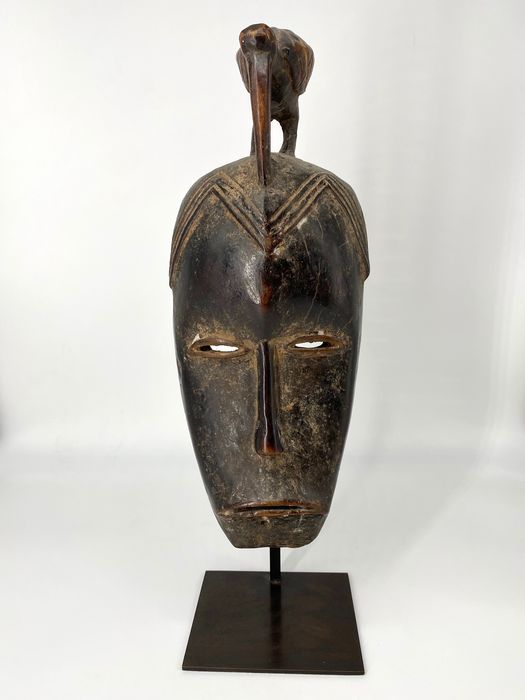 Mask - Wood - Guro - Ivory Coast