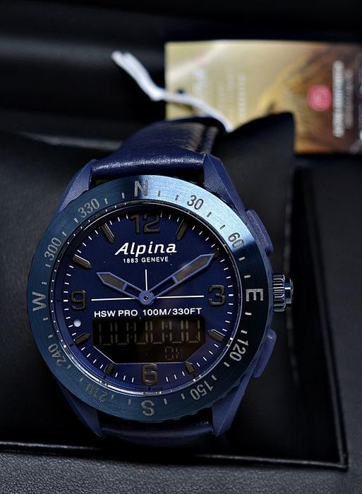 Alpina - AlpinerX Space Smartwatch Limited Edition Nr. 208/299 - AL-283SEN5NAQ6 - Heren - 2011-heden