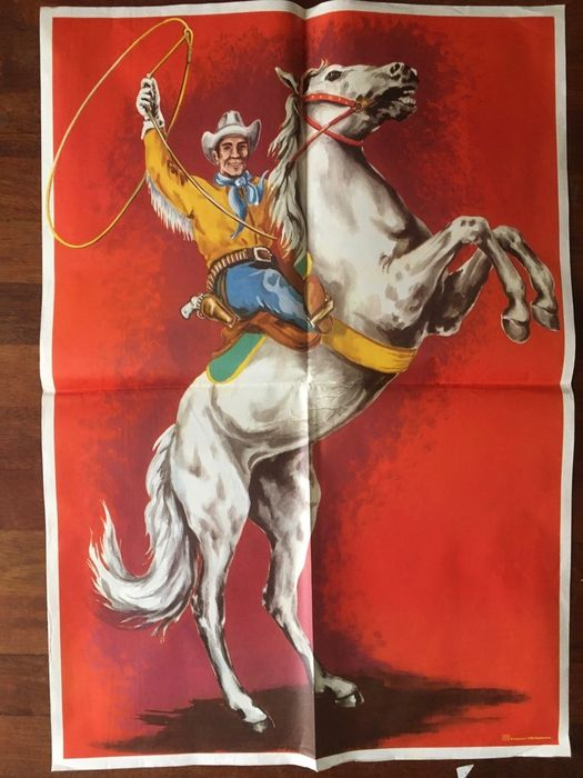 Anonymous - Circus Western Cowboy