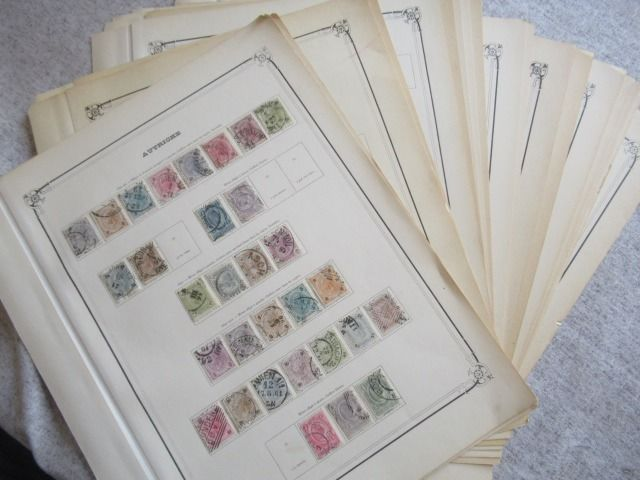 Austria - Advanced collection of stamps