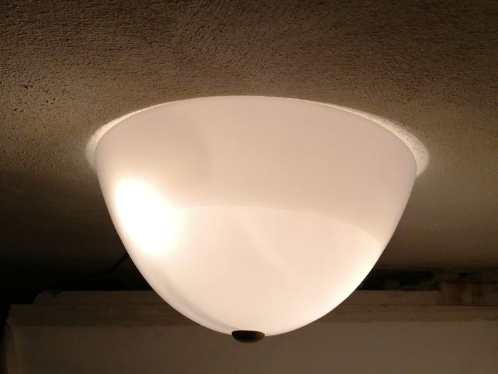 Ceiling lamp, Two murano glass ceiling lights