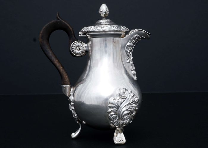 Coffee pot (1) - .950 silver - France - Early 19th century