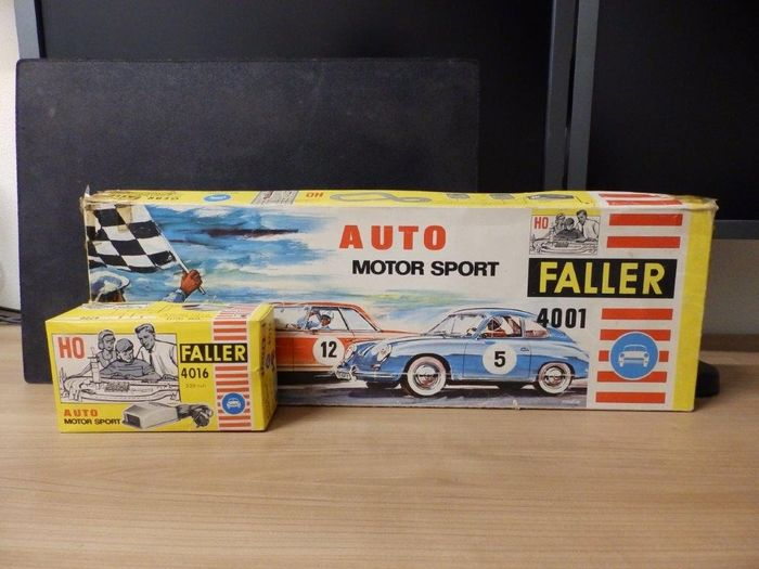 Faller H0 - 4001/4016 - Scenery - AMS Start set with transformer