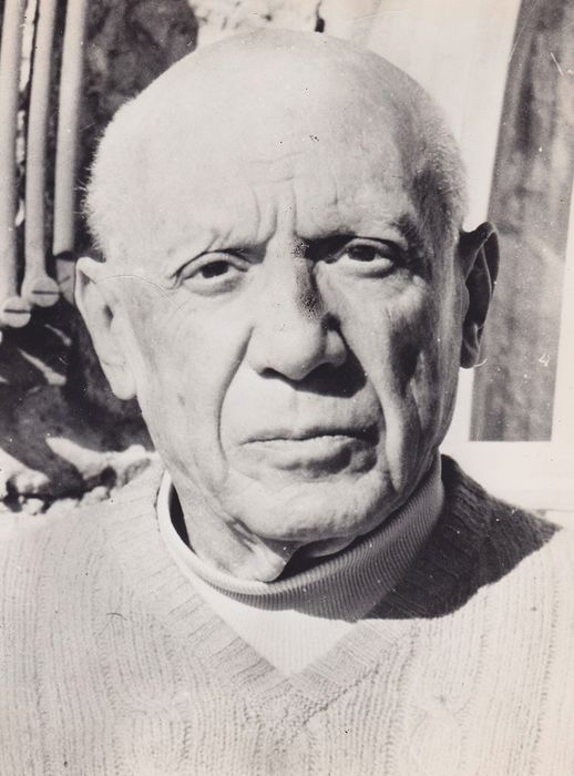 AFP/ The Daily Telegraph - Pablo Picasso, France 1971