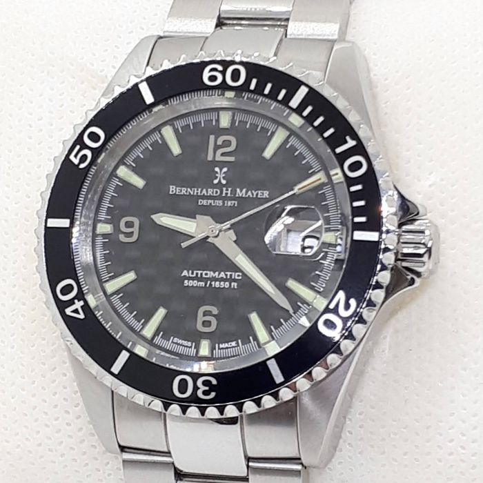 Bernhard H. Mayer - Nauticus Automatic  500m - NO RESERVE PRICE - Limited edition 4504 / 4999 - 41702.560.6 - Heren - 2011-heden