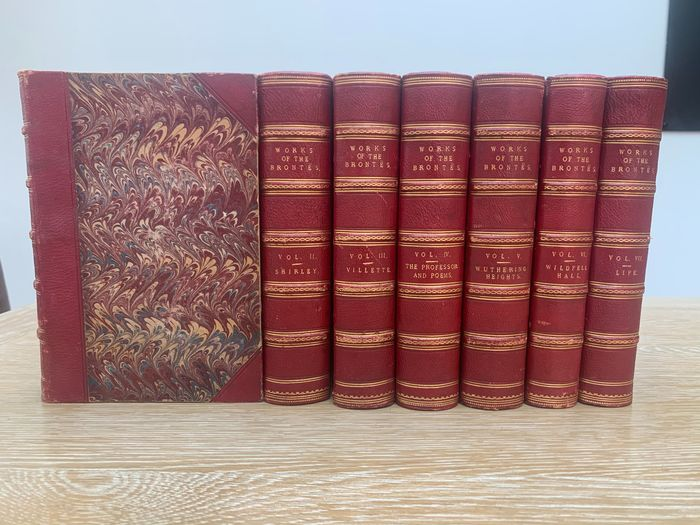 Bronte - Life And Works of the Bronte Sisters in 7 Volumes - 1875