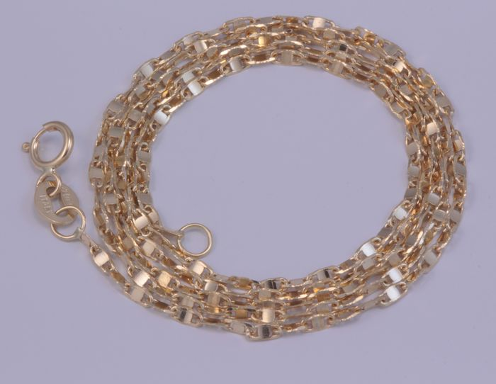 18 carats Or, Or jaune - Collier