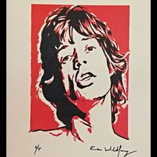 Mick Jagger - by Emma Wildfang - Édition limitée - 2020/2020