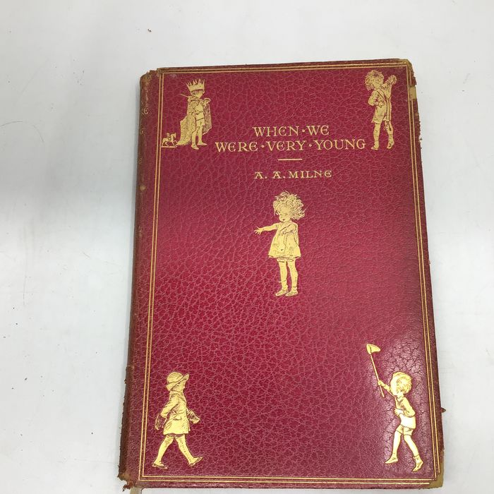 A.A. Milne / Ernest Shepard  - When We Were Very Young  - 1930