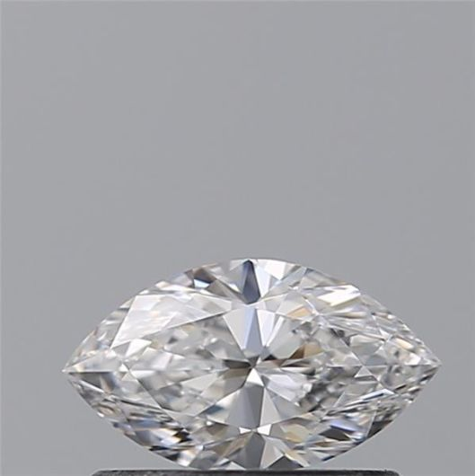 1 pcs Diamant - 0.41 ct - Marquise - D (incolore) - VVS1