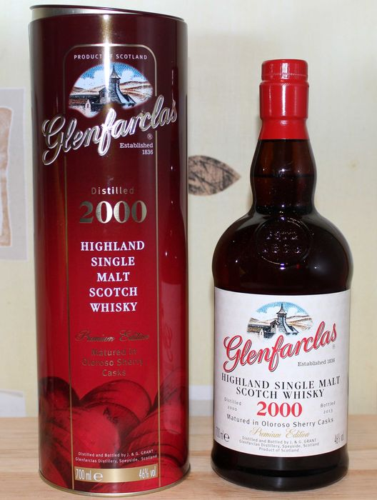 Glenfarclas 2000 13 years old Premium Edition - Original bottling - b. 2013 - 700ml
