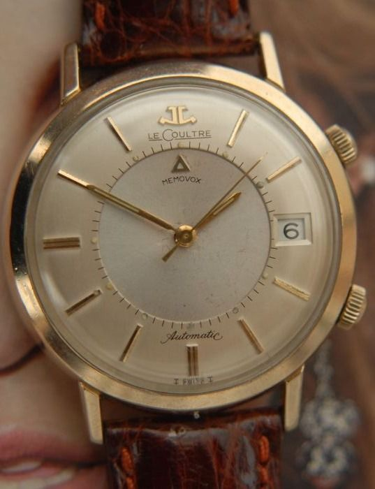 "Jaeger-LeCoultre - Memovox ""NO RESERVE PRICE"" - Heren - 1950-1959"