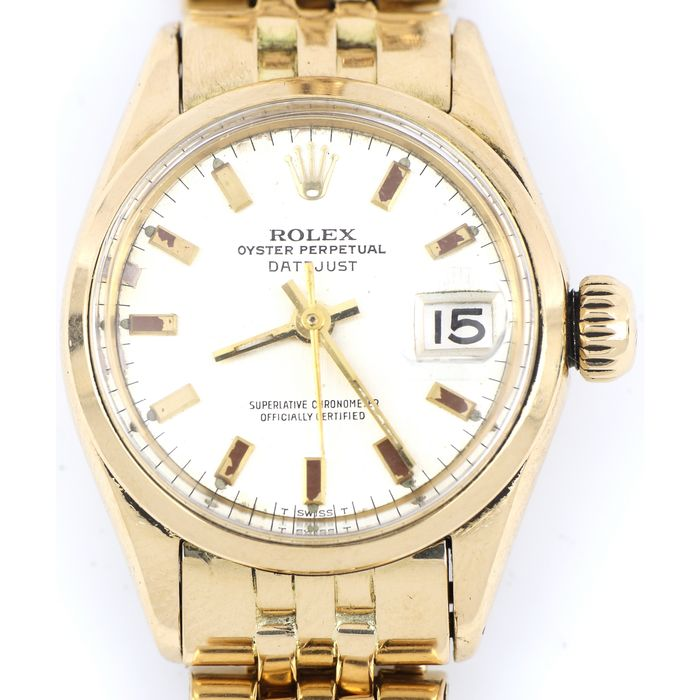 Rolex - Oyster Perpetual DateJust - 6516 - Dames - 1960-1969