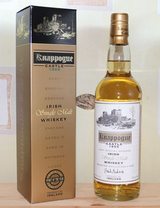 Knappogue Castle 1995 Very special Reserve - Original bottling - b. 2007 - 700ml