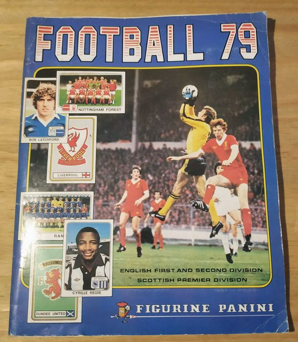 Panini - British Football 79 - Compleet album - 1979