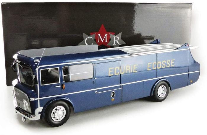 CMR Classic Model Replicars - 1:18 - Commer TS3 Three-Car Transporter Ecurie Ecosse