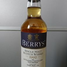 Littlemill 1992 21 years old Cask ref. 13 - Berry Brothers - b. 2014 - 700ml
