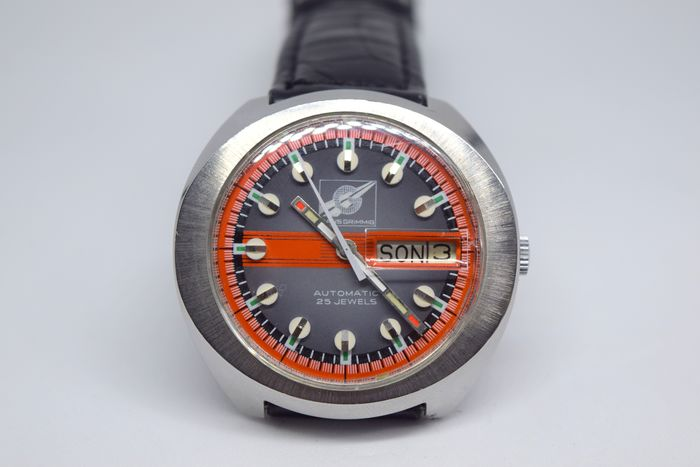 Hans Grimming - Automatic 25 Jewels - Uomo - 1980-1989