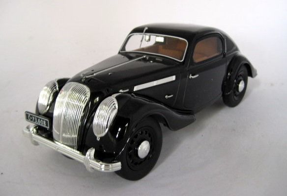 iscale - 1:18 - Skoda Popular Monte Carlo 1934 Black - Limited Edition - Mint Boxed