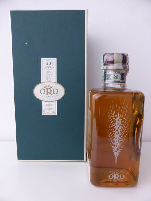 Glen Ord 1975 28 years old - Limited edition - Diageo Special Releases 2003 - Original bottling - b. 2003 - 700ml