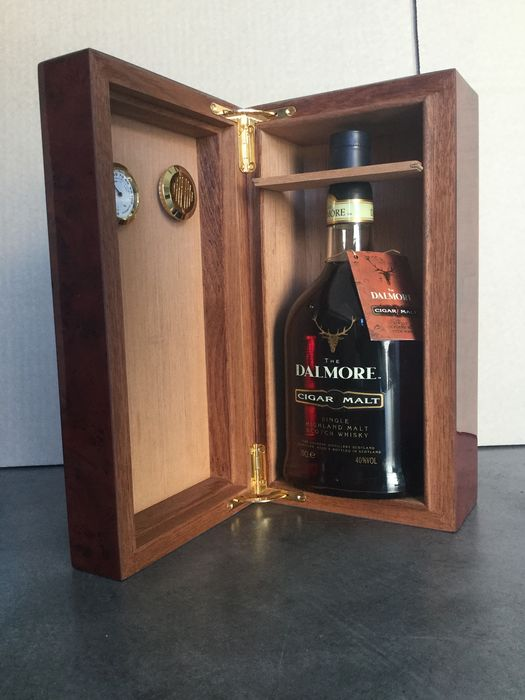 Dalmore Cigar Malt in original Humidor - Original bottling - 70cl