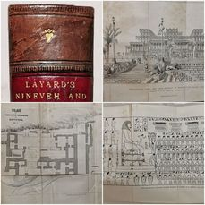 Austen H. Layard, M. P. - Discoveries In The Ruins Of Nineveh and Babylon - 1853