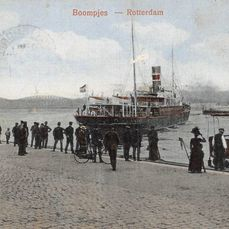 Rotterdam (varied lot - also maps of Rotterdam from the past) - Postcards (115) - 1910