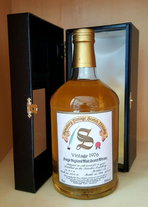 Tomatin 1976 14 years old Cask nos. 19479-81 - One of 1100 - Signatory Vintage - b. 1990 - 75cl