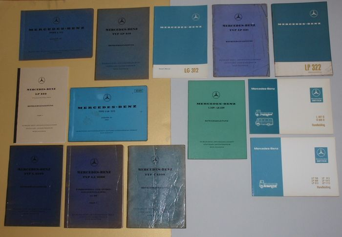Brochures / Catalogues - L K W af 1952 - Mercedes-Benz