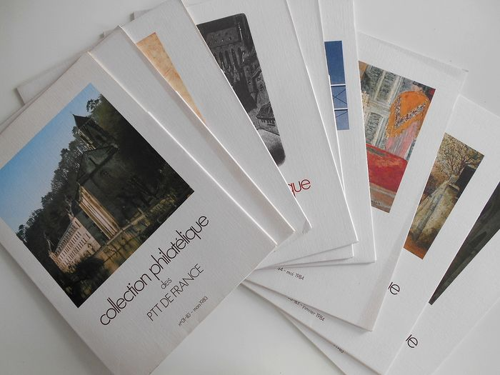 Francia 1983/1984 - Set of booklets from the Philatelic Collection of France - Yvert Entre Janvier 83 et Mai 84