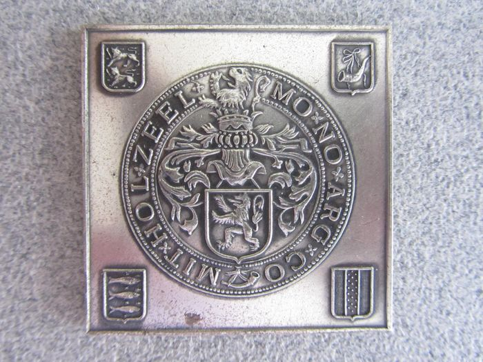 The Netherlands - Penning 50-jarig jubileum Vereniging Oud West-Friesland 1974 - Silver