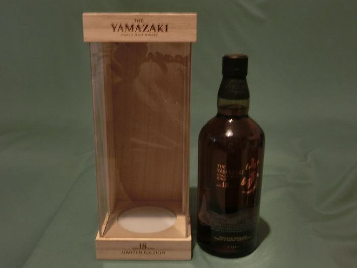 Yamazaki 18 years old Limited Edition - Bamboo box - Suntory - 700ml