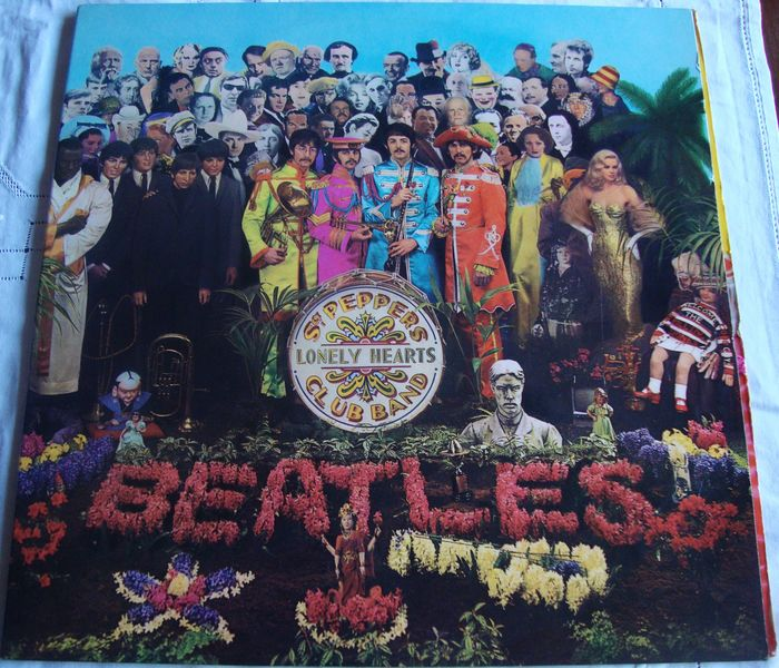 Beatles - Sgt. Pepper's Lonely Hearts Club Band - LP Album - 1967