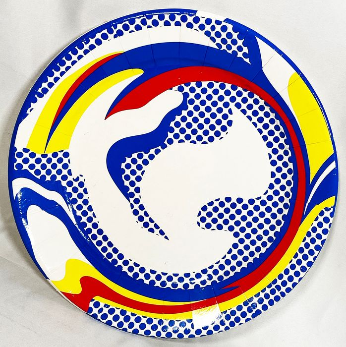 Roy Lichtenstein (after) - Paper Plate